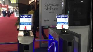 Büyük Ekran Turnike Video