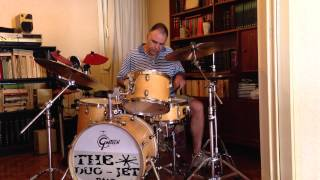 A Monday Date - Jimmy Noone 1928- drum cover by Makis Zotos