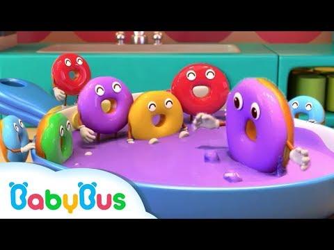 *新着*十個のドーナツ   かずのドーナツやさん   すうじのうた   色を学ぶ   人気童謡まとめ   赤ちゃんが喜ぶ歌   子供の歌   童謡   アニメ   動画   BabyBus