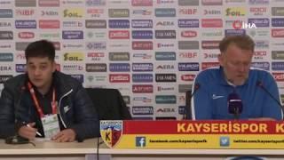 """Prosinecki """"Biz havlu atmıyoruz, buradayız"""" I Kayserispor"""