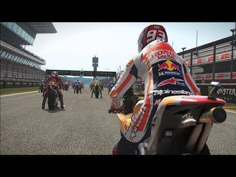 MotoGP 17 - Honda RC213V - Test Ride Gameplay (PC HD) [1080p60FPS] |