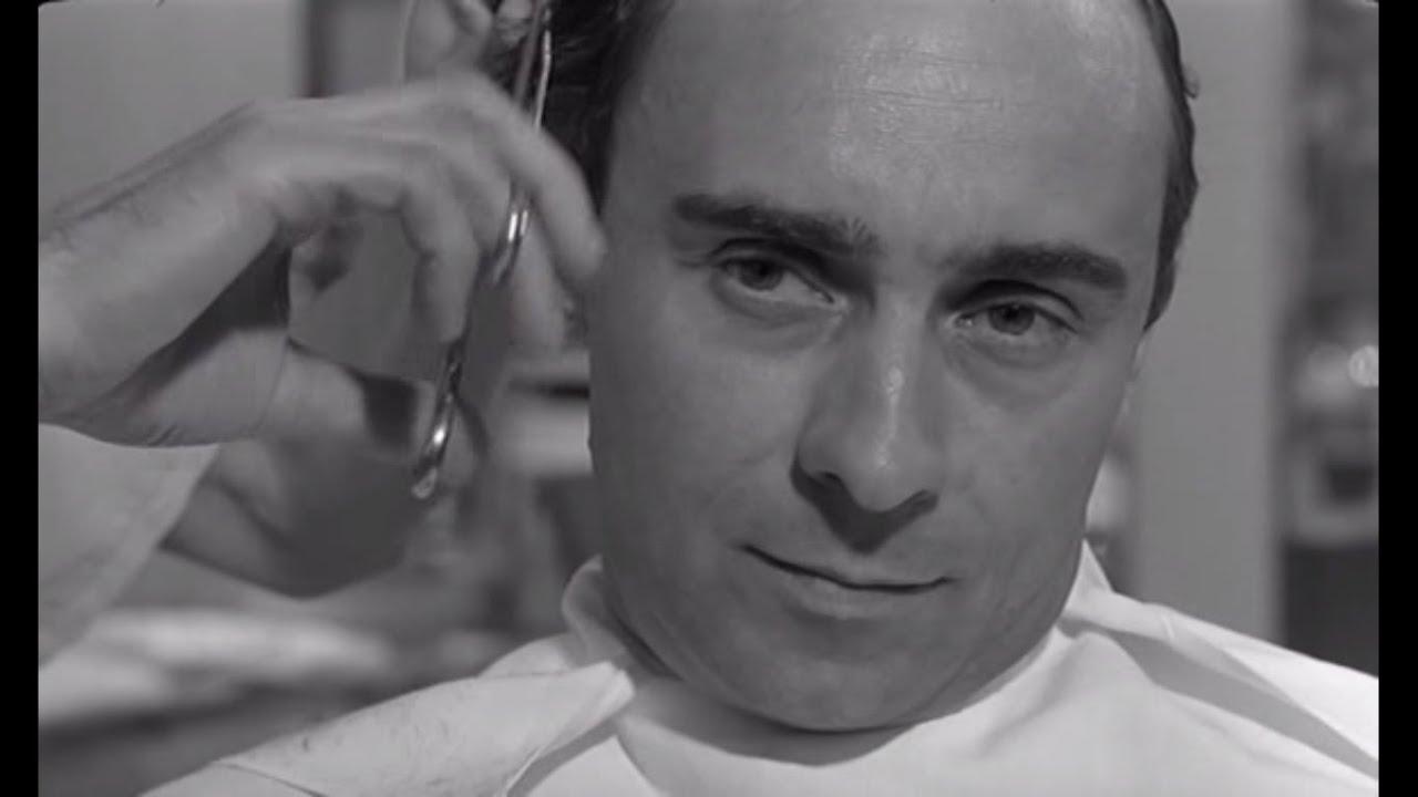 Risultati immagini per the man who had his hair cut short film 1966 youtube