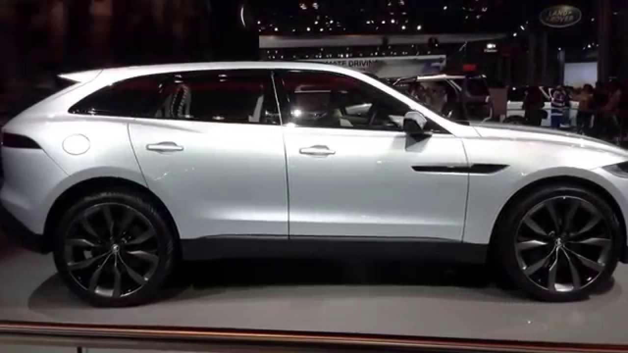 Land Rover Manhattan >> Jaguar CX-17 at the New York International Auto Show - YouTube