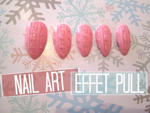 NAIL ART Effet Pull | Melissa Easy Nails
