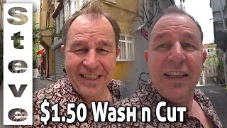 $1.50 HAIRCUT in TURKEY - After Lockdown Barbers Open ???