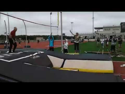 World record pole vault at 85 Frank Dickey