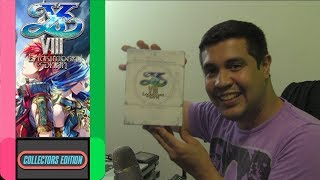 Ys VIII Limited Edition for Nintendo Switch Unboxing (NIS America) - Collector's Edition - Ep 3