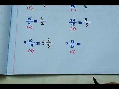 5.sınıf Matematik Kesirleri Genişletme Ve Sadeleştirme (Denk Kesirler)