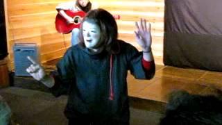 2013年1月19日(土)野老澤町造商店:音戯の世界「仮面とギター演奏」か...