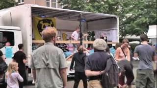 Tanzdemo gegen Atom in Gießen 3