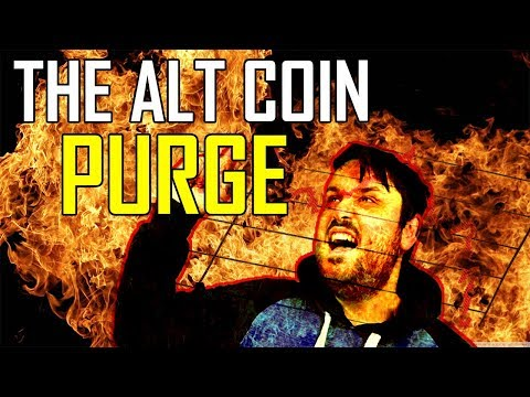 The Alt Coin Purge... Bitcoin Maximalists Were Right?