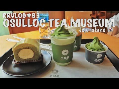 RRVLOG#93 - OSULLOC TEA MUSEUM | Jeju Island Eps. 09 | South Korea 🇰🇷