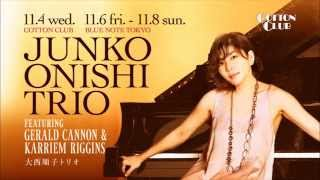 JUNKO ONISHI TRIO featuring GERALD CANNON & KARRIEM RIGGINS : COTTON CLUB JAPAN 2015 trailer