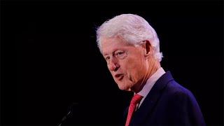 El expresidente de EEUU Bill Clinton, hospitalizado por una infección