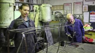 видео Технология художественной ковки металлических изделий