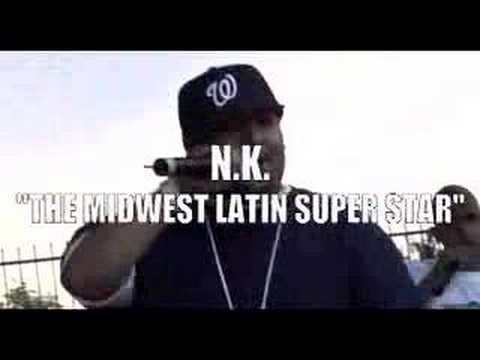 NK The Latin Super Star  IN SAN DIEGO BLAZIN 98.9 FM