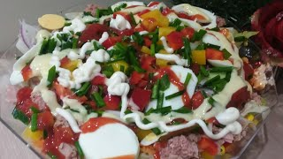 🇬🇭 #HOW TO MĄKE AUTHENTIC 🇬🇭#GHANAIAN #SALAD🇬🇭