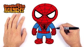 How to Draw Spiderman- Art for Beginners