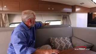 Cruisers Yachts 390 Express Coupe Below Deck Features 2015- By BoatTest.com