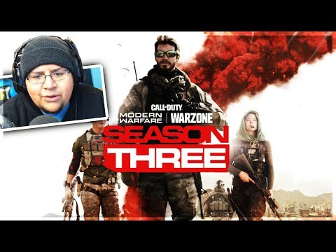 SEASON 3 RELEASE DATE & INFO, 10 FREE TIER SKIPS & MORE! (Modern Warfare)