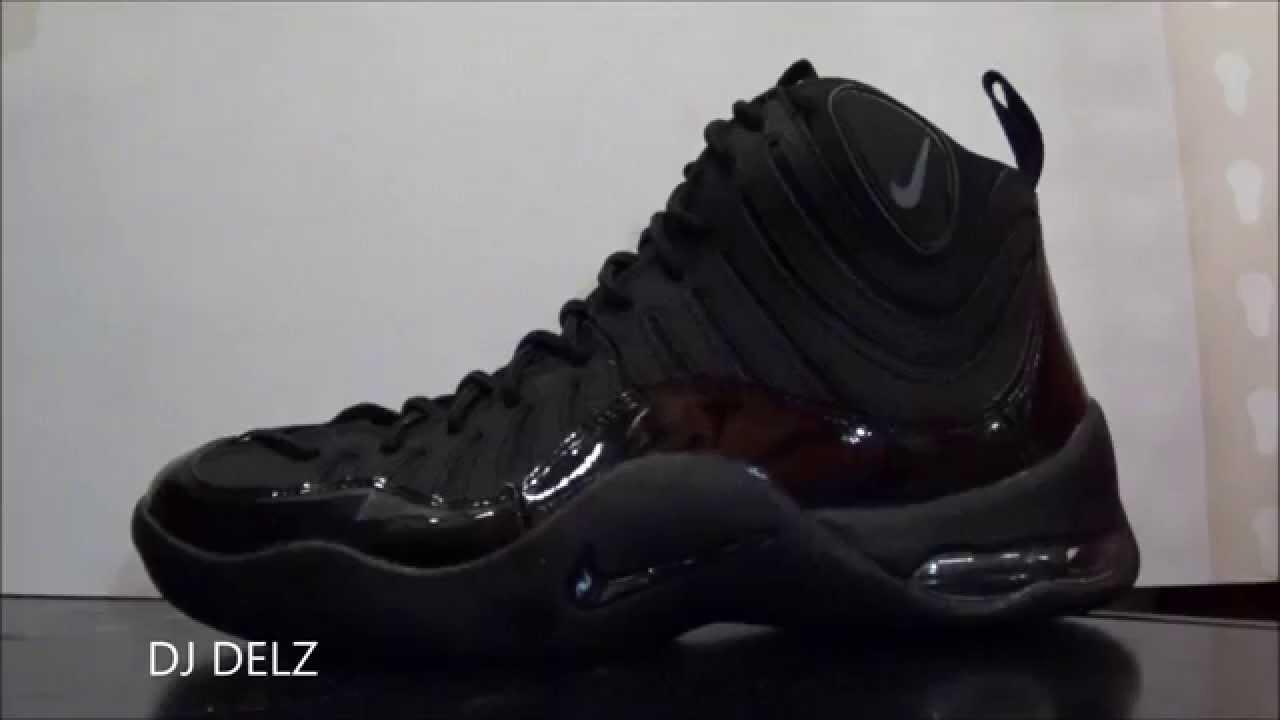 828b2000d824 Nike Air Bakin Blackout Sneaker Review + On Foot With Dj Delz  DjDelz -  YouTube