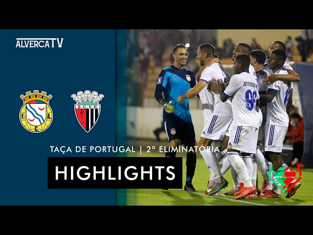 FC Alverca 3-1 SC Vila Real | Highlights