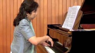 ABRSM Piano 2017-2018 Grade 7 B:2 B2 Love Song Two Folksongs No.1 康定情歌 By Dr. Cheng Wai 鄭慧博士