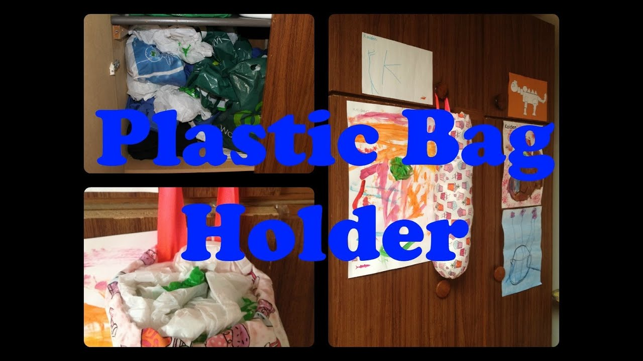 *Sewing DIY* Plastic Bag Holder - YouTube