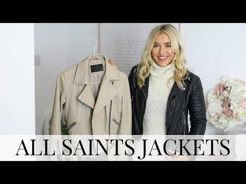 ALL SAINTS LEATHER JACKET REVIEW, STYLING & SIZING TIPS - BLACK FRIDAY TRY ON HAUL