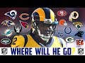 2018 NFL FREE AGENCY PREDICTIONS - SAMMY WATKINS Rams Bears Titans Ravens Cardinals Panthers Niners