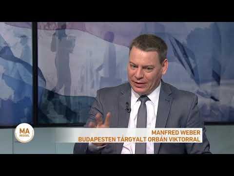 Manfred Weber Budapesten tárgyalt Orbán Viktorral