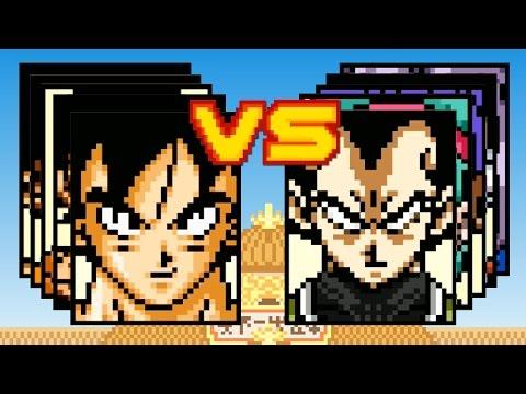 GOKU'S FAMILY VS VEGETA'S FAMILY - Dragon Ball Z Devolution - Part 13