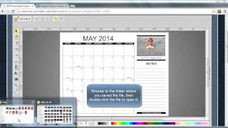 How To Print Your Personalized Calendar(, 2013-10-30T13:13:25.000Z)