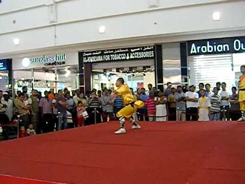 chinese performer @ doha, city center