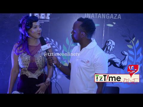 Chuchu hans kwenye Usiku wa Mr.Tanzania 2017
