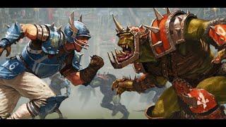 Blood Bowl 2-  Dwarfs vs Skaven gameplay