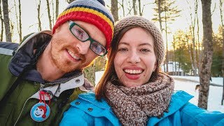 Winter in Canada Vacation! Our Family Trip to a Cottage in Kawartha Lakes!