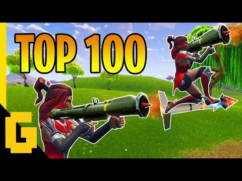 TOP 100 BEST PLAYS IN FORTNITE - Epic moments compilation of 2018