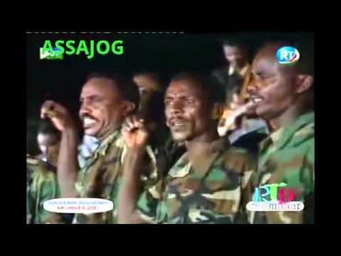 Djibouti: Souvenir le défilé militaire 2001