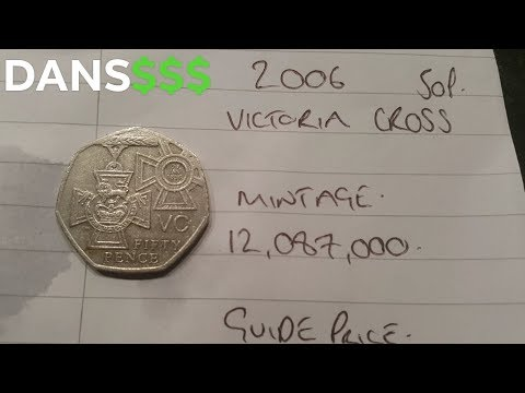 2006 VC Fifty Pence Coin WORTH? Victoria Cross 50p Coin