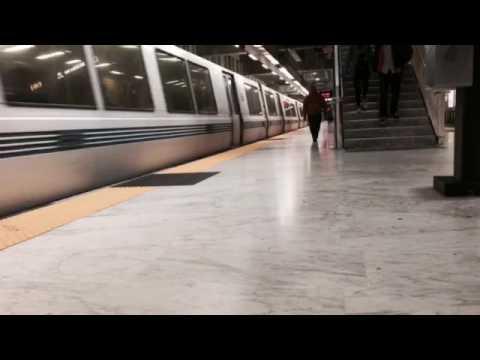 BART train  |  Oakland  | California