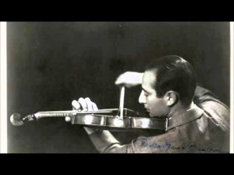 Bronislaw Gimpel- Mendelssohn VIolin Concerto Mvt. 1
