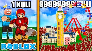 1 KULI THE FLAS VS 99999999 KULI THE FLAS UNTUK MEMBUAT KINCIR ANGIN RAKSAKSADAN.. ROBLOX Architect