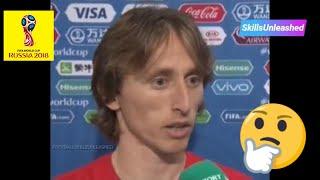Luka Modric Criticises English Arrogance After Croatia Reach World Cup Final 🤔