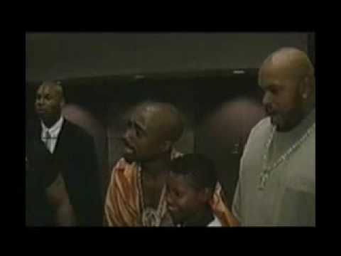 Tupac and Suge Waiting for Mike Tyson Backstage Rare Footage Last Day