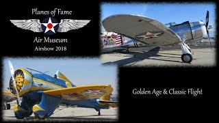 Planes of Fame 2018 'Golden Age & Classic flight'