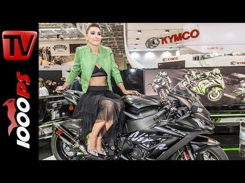 Kawasaki Neuheiten 2017 - Weltpremiere
