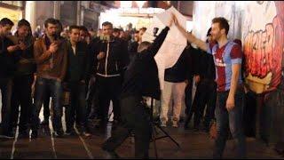 Trabzonspor formasıyla Taksim de dolaşırsan ne olur ?