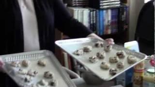 Vegan Oatmeal Craisin Cookies: Part 2