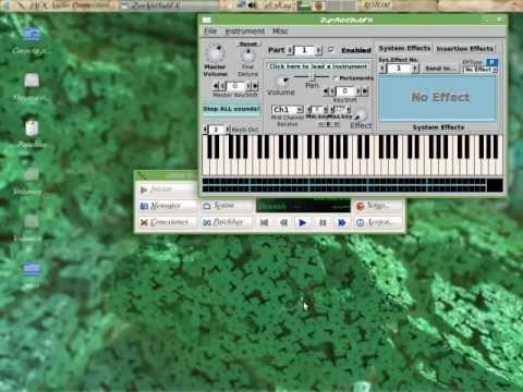 como configurar sonido en tuxguitar, set up sound